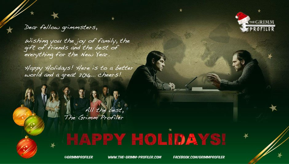 Happy Holidays from The Grimm Profiler